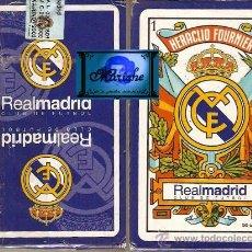 Coleccionismo deportivo: REAL MADRID JUEGO DE NAIPES O BARAJA DE HERACLIO FOURNIER AÑO 2003 PRECINTADA. Lote 29912894