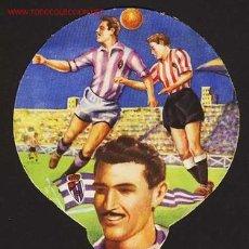 Collectionnisme sportif: PAY PAY DEL JUGADOR DE FUTBOL LESMES DEL REAL VALLADOLID. Lote 174102964