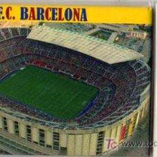 Coleccionismo deportivo: IMAN - PLACA MAGNETICA DEL CAMP NOU, ESTADIO FC BARCELONA. Lote 23761869