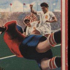 Coleccionismo deportivo: TORNEO NACIONAL DE LIGA 1ª Y 2ª DIVISIÓN 1955-56.OBSEQUIO DE PATRICIO. Lote 16954804