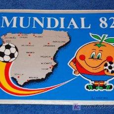Coleccionismo deportivo: PEGATINA MUNDIAL 82 - NARANJITO - ESPAÑA 82. Lote 25380558
