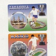 Coleccionismo deportivo - 3 calendarios de bolsillo 2006 // ZARAGOZA - REAL MADRID - BARCELONA // FUTBOL - 19039838