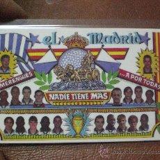 Coleccionismo deportivo: CALENDARIO BOLSILLO REAL MADRID TEMPORADA 2000 2001 PLASTIFICADO. Lote 13603252