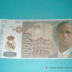 Coleccionismo deportivo: BILLETE 10000 PTS ROBERTO CARLOS. Lote 104309707