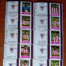 Coleccionismo deportivo: ATHLETIC DE BILBAO 16 CAJITAS EN PLANCHA - FOSFOROS DEL PIRINEO. Lote 14871947