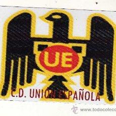 Coleccionismo deportivo: ESCUDO C.D. UNIÓN ESPAÑOLA EN PAPEL MAGNÉTICO.. Lote 15062857