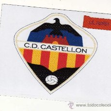 Coleccionismo deportivo: ESCUDO C.D. CASTELLÓN EN PAPEL MAGNÉTICO.. Lote 15062895