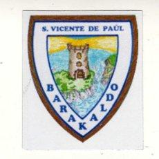Coleccionismo deportivo: ESCUDO DEL PAULDARRAK EFKT (BARAKALDO) EN PAPEL IMANTADO · MEDIDAS: 7,5 X 9 CM.. Lote 15226456