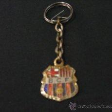 Coleccionismo deportivo: LLAVERO ANTIGUO Y RARO DEL F.C. BARCELONA - (SIGLAS BCF) - . Lote 26583583