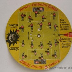 Coleccionismo deportivo: PRECIOSO JUEGO DE FUTBOL - TORNEO FUTBOLIN LUNAR - AÑO 1954. Lote 21224390