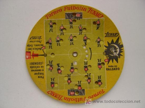 Coleccionismo deportivo: PRECIOSO JUEGO DE FUTBOL - TORNEO FUTBOLIN LUNAR - AÑO 1954 - Foto 2 - 21224390