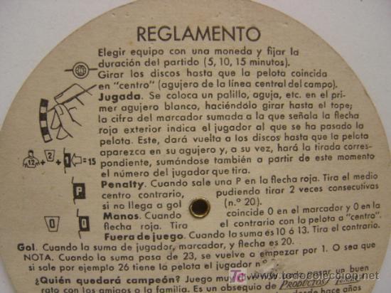 Coleccionismo deportivo: PRECIOSO JUEGO DE FUTBOL - TORNEO FUTBOLIN LUNAR - AÑO 1954 - Foto 5 - 21224390