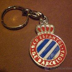 Coleccionismo deportivo: LLAVERO REAL CLUB DEPORTIVO ESPAÑOL ESPANYOL. Lote 34036576