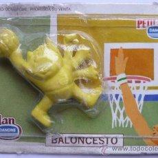 Colecionismo desportivo: COBI GOMA DE BORRAR BALONCESTO, OBSEQUIO DE PETIT SUISSE Y FLAN DANONDE AÑO 1988 JUEGOS OLIMPICOS. Lote 172180879