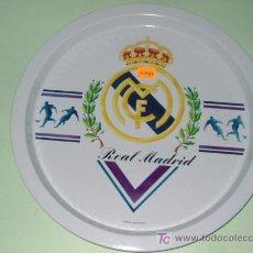 Coleccionismo deportivo: BANDEJA ALUMINIO REAL MADRID. Lote 26018786