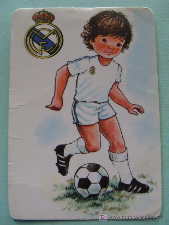Calendario De Deportes 1986 Futbol Real Madr Comprar