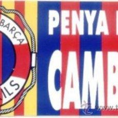 Coleccionismo deportivo: ADHESIVO PENYA BARÇA CAMBRILS. PEGATINA. FC BARCELONA. ADHESIVOS. FUTBOL.. Lote 198564085