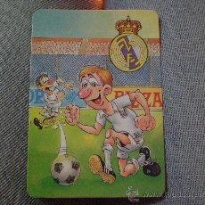 Coleccionismo deportivo - Calendario Bolsillo Real Madrid Futbol - 18080815