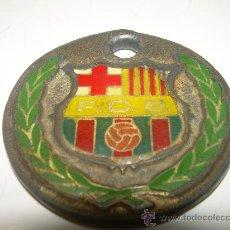 Coleccionismo deportivo: ANTIGUO LLAVERO CAMPIO DE LLIGA 84 - 85 F.C. BARCELONA.. Lote 26555065