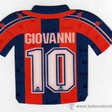 Coleccionismo deportivo: FC BARCELONA - PEGATINA DE GIOVANNI. Lote 18869475