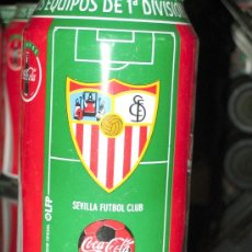 Coleccionismo deportivo: LATA DE COCA COLA LIGA 96-97-SEVILLA FUTBOL CLUB -EQUIPOS PRIMERA DIVISION-. Lote 19784628