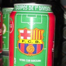 Coleccionismo deportivo: LATA DE COCA COLA LIGA 96-97- FUTBOL CLUB BARCELONA -EQUIPOS PRIMERA DIVISION-. Lote 19784660
