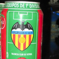 Coleccionismo deportivo: LATA DE COCA COLA LIGA 96-97- VALENCIA CLUB DE FUTBOL-EQUIPOS PRIMERA DIVISION-. Lote 19784761