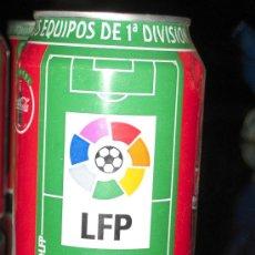 Coleccionismo deportivo: LATA DE COCA COLA LIGA 96-97- LFP -EQUIPOS PRIMERA DIVISION-. Lote 19784792