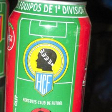 Coleccionismo deportivo: LATA DE COCA COLA LIGA 96-97- HERCULES CLUB DE FUTBOL -EQUIPOS PRIMERA DIVISION-. Lote 19784813