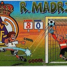 Coleccionismo deportivo - calendario bolsillo.- futbol.- real madrid.- año 2003 - 19747574