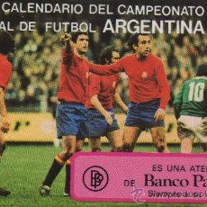Coleccionismo deportivo: CALENDARIO CAMPEONATO MUNDIAL DE FÚTBOL ARGENTINA 1978. Lote 27575668