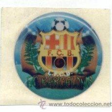 Coleccionismo deportivo: ADHESIVO BARÇA. FC BARCELONA. FUTBOL. ADHESIVOS. DIAMETRO 3 CM. CON RELIEVE.. Lote 26939482