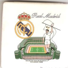 Coleccionismo deportivo: AZULEJO REAL MADRID 10X10 CM. Lote 21109250