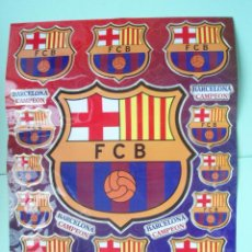 Coleccionismo deportivo: BONITAS PEGATINAS DEL F.C.BARCELONA. Lote 26873197