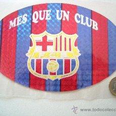 Coleccionismo deportivo: ADHESIVO - PEGATINA METALIZADO F.C. BARCELONA. Lote 22285069