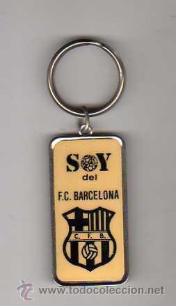 (M) LLAVERO FC BARCELONA - SOY DEL FC BARCELONA (Coleccionismo Deportivo - Merchandising y Mascotas - Futbol)