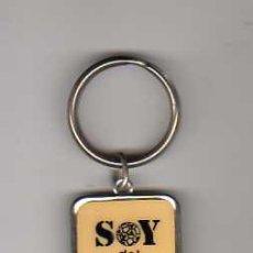 Coleccionismo deportivo: (M) LLAVERO FC BARCELONA - SOY DEL FC BARCELONA . Lote 22854426