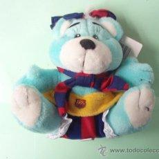 Coleccionismo deportivo: BONITO PELUCHE DEL F.C.BARCELONA NUEVO. Lote 25078073