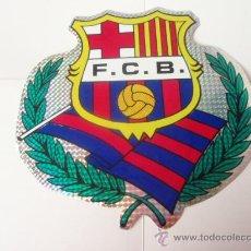 Coleccionismo deportivo: PEGATINA DEL F.C.BARCELONA GRANDE 25 X 23 CTROS.. Lote 23782342