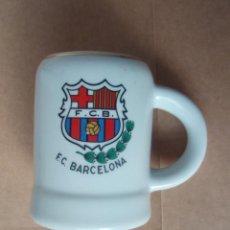 Coleccionismo deportivo: ANTIGUA JARRA DEL F.C.BARCELONA . Lote 26873159