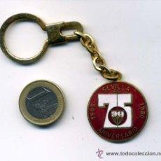 Coleccionismo deportivo: LLAVERO DEL 75 ANIVERSARIO DEL SEVILLA FC . Lote 27293171
