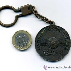 Coleccionismo deportivo: LLAVERO DE LA FINAL DEL MUNDIAL DE FUTBOL MEXICO 1970 - FINAL BRASIL ITALIA. Lote 27293198