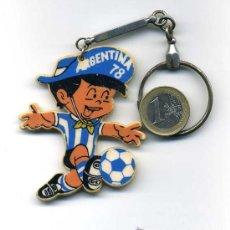 Coleccionismo deportivo: LLAVERO DEL MUNDIAL DE FUTBOL ARGENTINA 1978. Lote 25696847