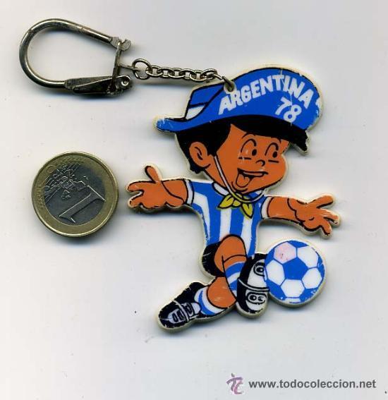 LLAVERO DEL MUNDIAL DE FUTBOL ARGENTINA 1978 (Coleccionismo Deportivo - Merchandising y Mascotas - Futbol)