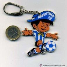 Coleccionismo deportivo: LLAVERO DEL MUNDIAL DE FUTBOL ARGENTINA 1978. Lote 27038093