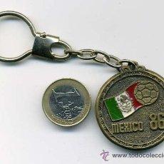 Coleccionismo deportivo: LLAVERO DEL MUNDIAL DE FUTBOL MEXICO 1986. Lote 25696848