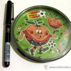 Coleccionismo deportivo: JUEGO DE LAS BOLAS DE NARANJITO - MUNDIAL 82 - PIQUET 1979. Lote 24280359