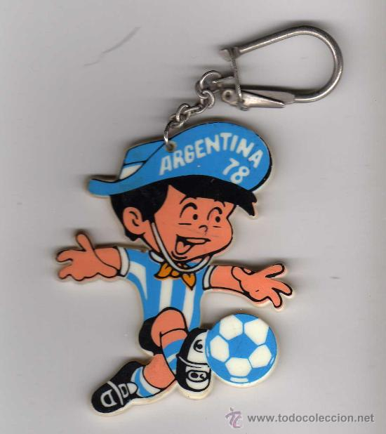LLAVERO ARGENTINA 78 - MUNDIAL ARGENTINA 1978 (Coleccionismo Deportivo - Merchandising y Mascotas - Futbol)
