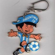 Coleccionismo deportivo: LLAVERO ARGENTINA 78 - MUNDIAL ARGENTINA 1978. Lote 24425067