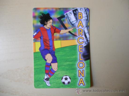 1 CALENDARIO DEL FC BARCELONA (BARÇA) (Coleccionismo Deportivo - Merchandising y Mascotas - Futbol)